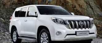 Toyota Prado 2014-2016