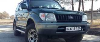 Toyota Prado 1996-2002
