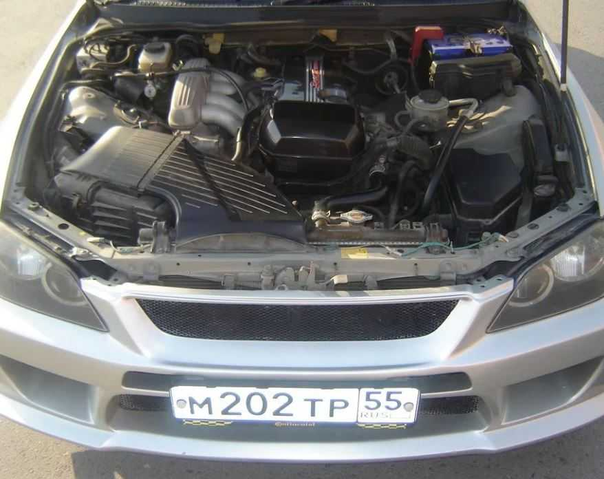 Виды двигателей Toyota Altezza, характеристики